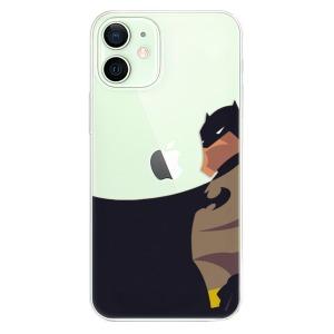 Odolné silikonové pouzdro iSaprio - BaT Comics na mobil Apple iPhone 12 Mini