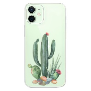 Odolné silikonové pouzdro iSaprio - Cacti 02 na mobil Apple iPhone 12 Mini
