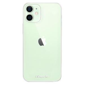 Odolné silikonové pouzdro iSaprio - 4Pure - čiré bez potisku na mobil Apple iPhone 12 Mini