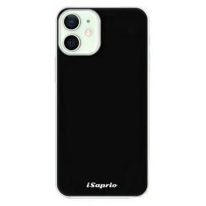 Odolné silikonové pouzdro iSaprio - 4Pure - černé na mobil Apple iPhone 12 Mini