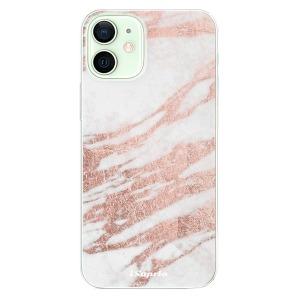 Odolné silikonové pouzdro iSaprio - RoseGold 10 na mobil Apple iPhone 12 - poslední kousek za tuto cenu