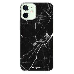 Odolné silikonové pouzdro iSaprio - Black Marble 18 na mobil Apple iPhone 12