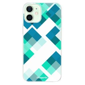 Odolné silikonové pouzdro iSaprio - Abstract Squares 11 na mobil Apple iPhone 12