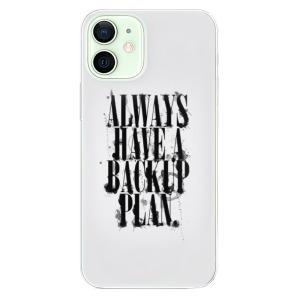 Odolné silikonové pouzdro iSaprio - Backup Plan na mobil Apple iPhone 12