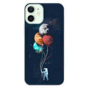 Odolné silikonové pouzdro iSaprio - Balloons 02 na mobil Apple iPhone 12