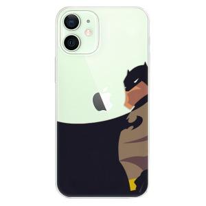 Odolné silikonové pouzdro iSaprio - BaT Comics na mobil Apple iPhone 12