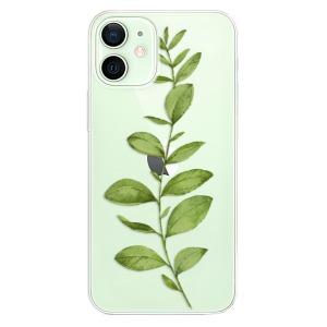 Odolné silikonové pouzdro iSaprio - Green Plant 01 na mobil Apple iPhone 12 / 12 Pro  - poslední kousek za tuto cenu