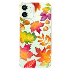 Odolné silikonové pouzdro iSaprio - Autumn Leaves 01 na mobil Apple iPhone 12