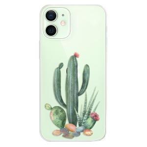 Odolné silikonové pouzdro iSaprio - Cacti 02 na mobil Apple iPhone 12