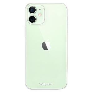 Odolné silikonové pouzdro iSaprio - 4Pure - čiré bez potisku na mobil Apple iPhone 12