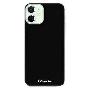 Odolné silikonové pouzdro iSaprio - 4Pure - černé na mobil Apple iPhone 12