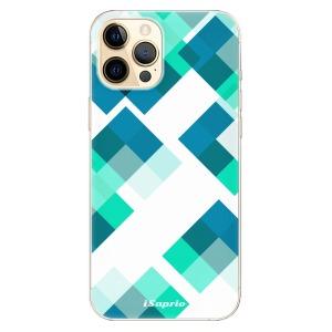 Odolné silikonové pouzdro iSaprio - Abstract Squares 11 na mobil Apple iPhone 12 Pro