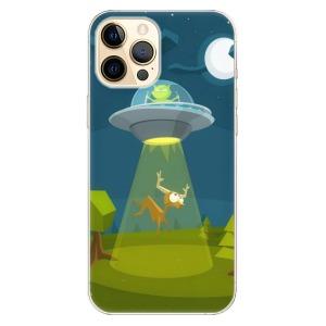 Odolné silikonové pouzdro iSaprio - Alien 01 na mobil Apple iPhone 12 Pro