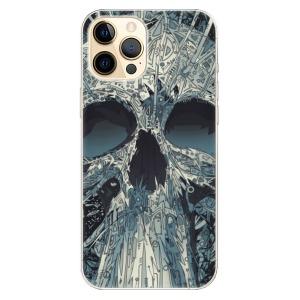 Odolné silikonové pouzdro iSaprio - Abstract Skull na mobil Apple iPhone 12 Pro