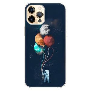 Odolné silikonové pouzdro iSaprio - Balloons 02 na mobil Apple iPhone 12 Pro