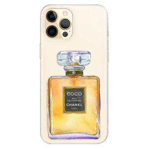 Odolné silikonové pouzdro iSaprio - Chanel Gold na mobil Apple iPhone 12 Pro