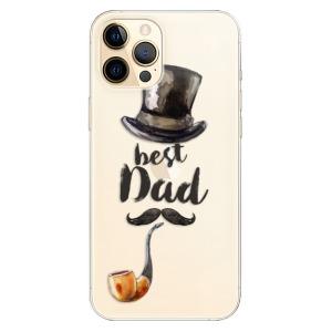 Odolné silikonové pouzdro iSaprio - Best Dad na mobil Apple iPhone 12 Pro