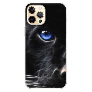 Odolné silikonové pouzdro iSaprio - Black Puma na mobil Apple iPhone 12 Pro