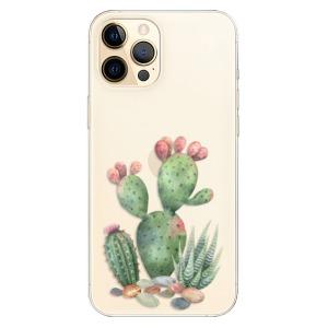 Odolné silikonové pouzdro iSaprio - Cacti 01 na mobil Apple iPhone 12 Pro