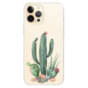 Odolné silikonové pouzdro iSaprio - Cacti 02 na mobil Apple iPhone 12 Pro
