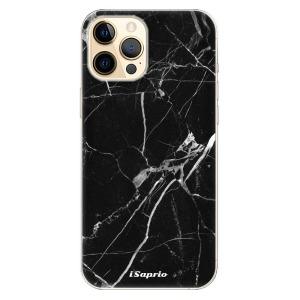 Odolné silikonové pouzdro iSaprio - Black Marble 18 na mobil Apple iPhone 12 Pro Max