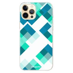 Odolné silikonové pouzdro iSaprio - Abstract Squares 11 na mobil Apple iPhone 12 Pro Max