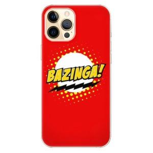 Odolné silikonové pouzdro iSaprio - Bazinga 01 na mobil Apple iPhone 12 Pro Max
