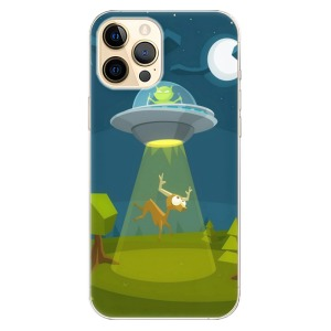 Odolné silikonové pouzdro iSaprio - Alien 01 na mobil Apple iPhone 12 Pro Max
