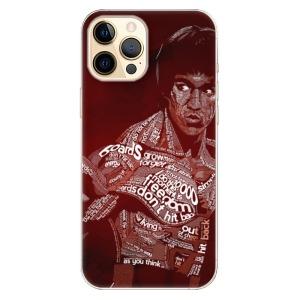 Odolné silikonové pouzdro iSaprio - Bruce Lee na mobil Apple iPhone 12 Pro Max