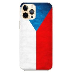 Odolné silikonové pouzdro iSaprio - Czech Flag na mobil Apple iPhone 12 Pro Max