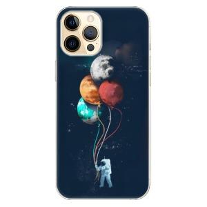 Odolné silikonové pouzdro iSaprio - Balloons 02 na mobil Apple iPhone 12 Pro Max