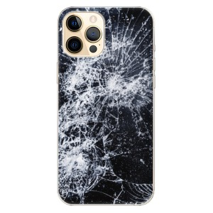 Odolné silikonové pouzdro iSaprio - Cracked na mobil Apple iPhone 12 Pro Max