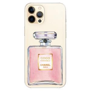 Odolné silikonové pouzdro iSaprio - Chanel Rose na mobil Apple iPhone 12 Pro Max