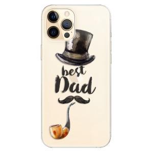 Odolné silikonové pouzdro iSaprio - Best Dad na mobil Apple iPhone 12 Pro Max