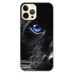 Odolné silikonové pouzdro iSaprio - Black Puma na mobil Apple iPhone 12 Pro Max