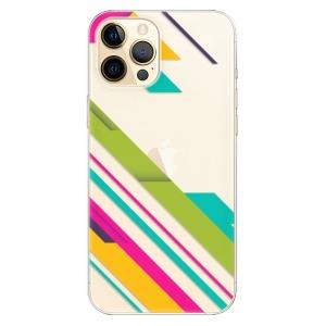 Odolné silikonové pouzdro iSaprio - Color Stripes 03 na mobil Apple iPhone 12 Pro Max