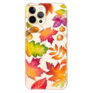 Odolné silikonové pouzdro iSaprio - Autumn Leaves 01 na mobil Apple iPhone 12 Pro Max