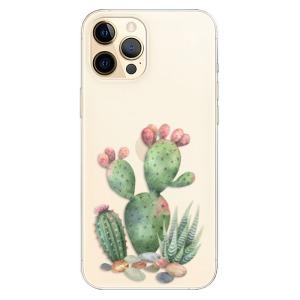 Odolné silikonové pouzdro iSaprio - Cacti 01 na mobil Apple iPhone 12 Pro Max