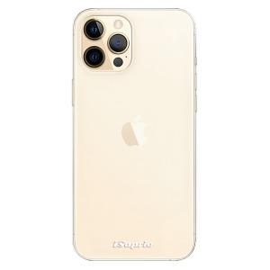Odolné silikonové pouzdro iSaprio - 4Pure - čiré bez potisku na mobil Apple iPhone 12 Pro Max
