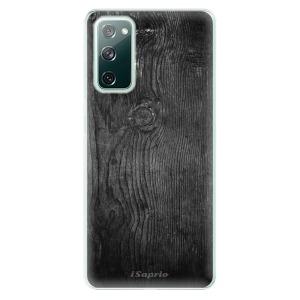 Odolné silikonové pouzdro iSaprio - Black Wood 13 na mobil Samsung Galaxy S20 FE / Samsung Galaxy S20 FE 5G