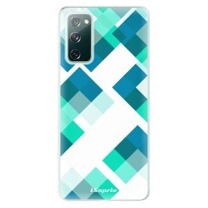 Odolné silikonové pouzdro iSaprio - Abstract Squares 11 na mobil Samsung Galaxy S20 FE / Samsung Galaxy S20 FE 5G