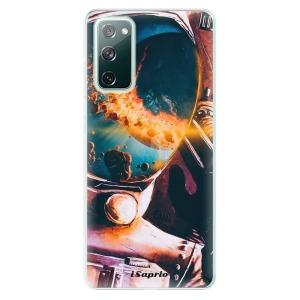 Odolné silikonové pouzdro iSaprio - Astronaut 01 na mobil Samsung Galaxy S20 FE / Samsung Galaxy S20 FE 5G
