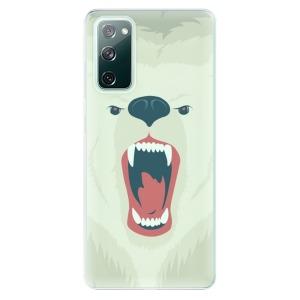 Odolné silikonové pouzdro iSaprio - Angry Bear na mobil Samsung Galaxy S20 FE / Samsung Galaxy S20 FE 5G