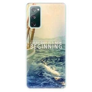 Odolné silikonové pouzdro iSaprio - Beginning na mobil Samsung Galaxy S20 FE / Samsung Galaxy S20 FE 5G