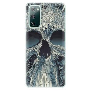 Odolné silikonové pouzdro iSaprio - Abstract Skull na mobil Samsung Galaxy S20 FE / Samsung Galaxy S20 FE 5G