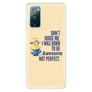 Odolné silikonové pouzdro iSaprio - Be Awesome na mobil Samsung Galaxy S20 FE / Samsung Galaxy S20 FE 5G