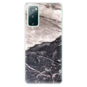 Odolné silikonové pouzdro iSaprio - BW Marble na mobil Samsung Galaxy S20 FE / Samsung Galaxy S20 FE 5G