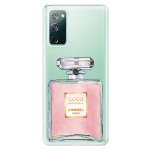 Odolné silikonové pouzdro iSaprio - Chanel Rose na mobil Samsung Galaxy S20 FE / Samsung Galaxy S20 FE 5G