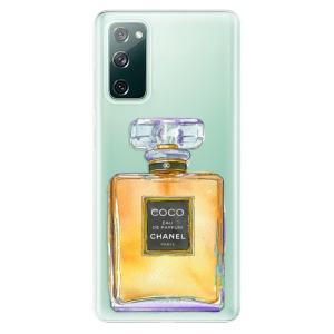 Odolné silikonové pouzdro iSaprio - Chanel Gold na mobil Samsung Galaxy S20 FE / Samsung Galaxy S20 FE 5G
