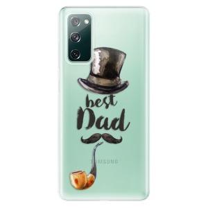 Odolné silikonové pouzdro iSaprio - Best Dad na mobil Samsung Galaxy S20 FE / Samsung Galaxy S20 FE 5G